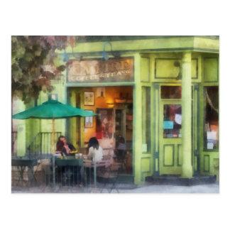 Café y té del imperio tarjeta postal