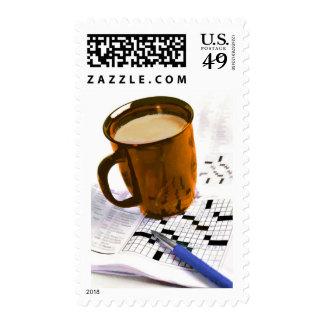 Café y un crucigrama envio