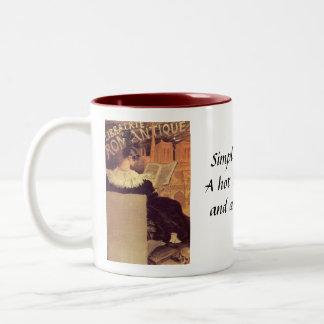 Café y una buena taza leída