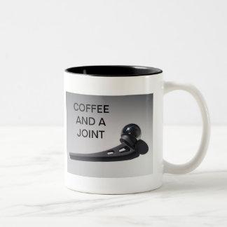 CAFÉ Y UNA JUNTA TAZA DE CAFÉ
