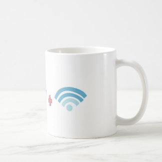 Café y Wifi Taza Clásica