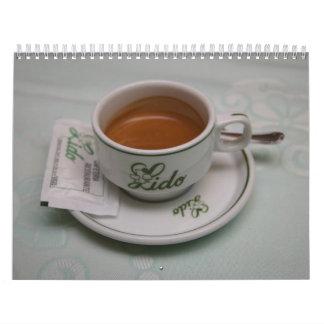 Café Calendario De Pared