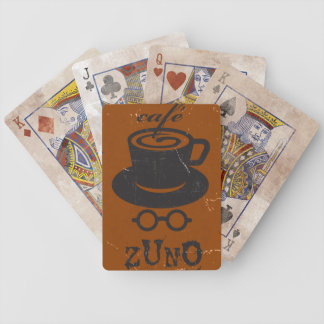 Cafe Zuno 01 Bicycle Playing Cards