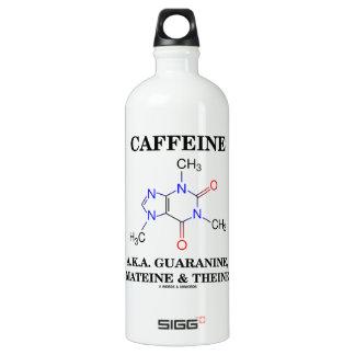 Cafeína A.K.A. Guaranine, Mateine y Theine Botella De Agua