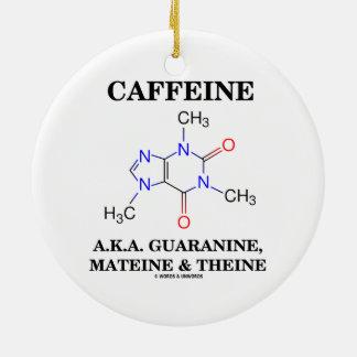 Cafeína A.K.A. Guaranine, Mateine y Theine Ornamento Para Reyes Magos