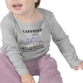 Cafeína A.K.A. Guaranine, Mateine y Theine Camiseta