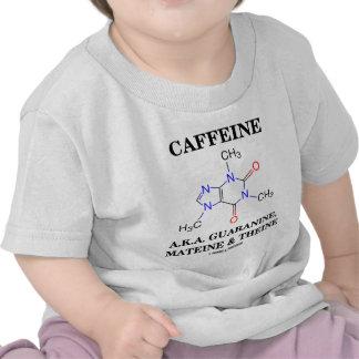 Cafeína A.K.A. Guaranine, Mateine y Theine Camisetas
