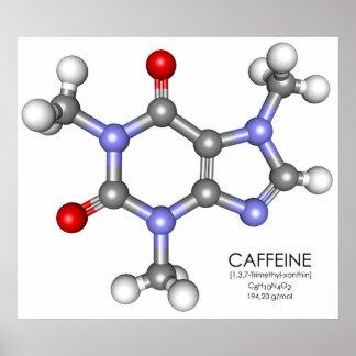 Cafeína - café poster