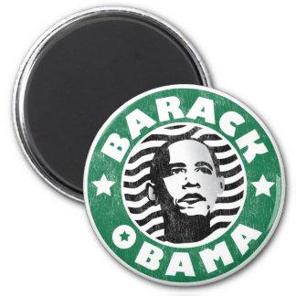 Cafeína de la estrella de Barack Obama Imán De Frigorífico