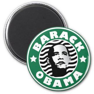 Cafeína de la estrella de Barack Obama Imán Para Frigorífico
