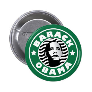 Cafeína de la estrella de Barack Obama Pins