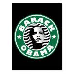 Cafeína de la estrella de Barack Obama Postal