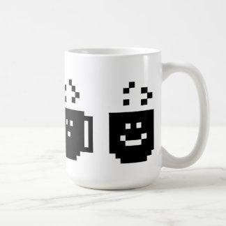 Cafeína de la necesidad de los pixeles también tazas