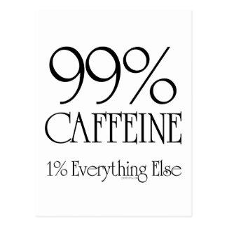 Cafeína del 99% postal