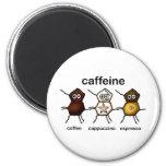 Cafeína Imán Para Frigorífico