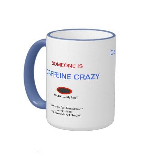 Cafeína loco tazas