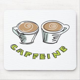Cafeína Mousepad Alfombrilla De Ratones