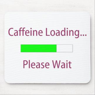 Cafeína que carga Mousepad