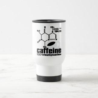 Cafeína Taza De Viaje De Acero Inoxidable