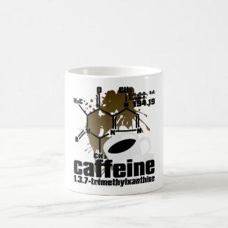 Cafeína Taza Básica Blanca