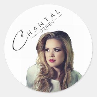 Cafepress Chantal Pic44 Classic Round Sticker