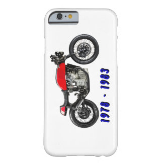 caferacer funda de iPhone 6 barely there