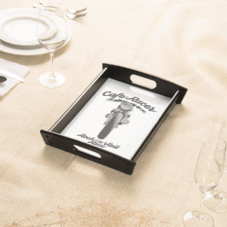 CafeRacer Rockers Serving Tray