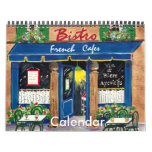 Cafés franceses, calendario 2013