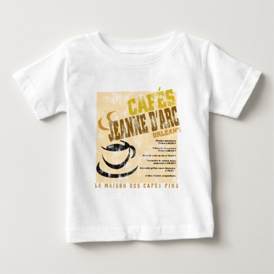 Cafes Jeanne D'Arc aged Baby T-Shirt