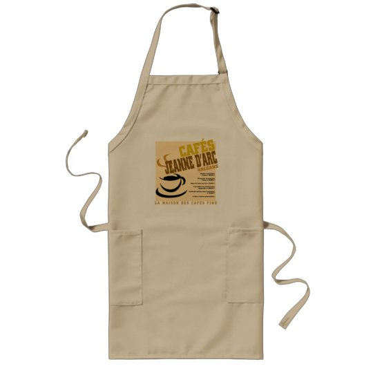 Cafes Jeanne D'Arc Long Apron