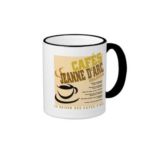 Cafes Jeanne D'Arc Ringer Mug