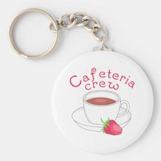 CAFETERIA CREW KEYCHAIN