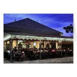Cafetería de los restaurantes de New Orleans Felicitacion