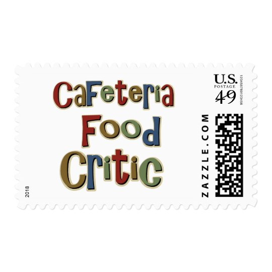 Cafeteria Food Critic Postage