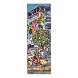 Cafeteria Horus Bookmark Mini Business Card