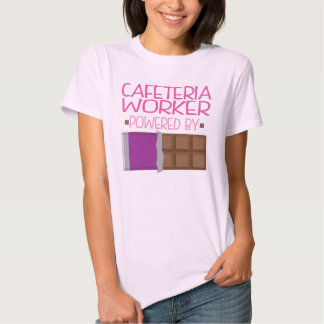 Cafeteria Worker Chocolate Gift for Woman T-shirt