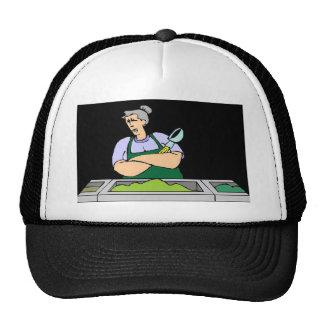 CAFETERIA WORKER TRUCKER HATS