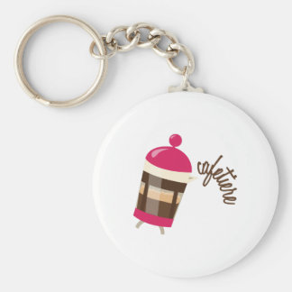 Cafetiere Keychains