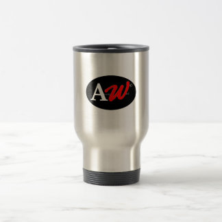 caffè del aw taza de viaje