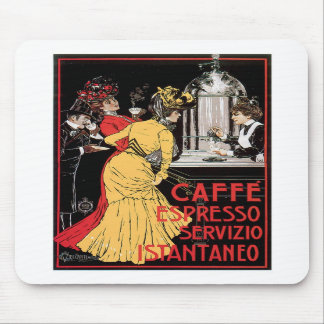 Caffe Espresso Vintage Coffee Drink Ad Art Mousepad