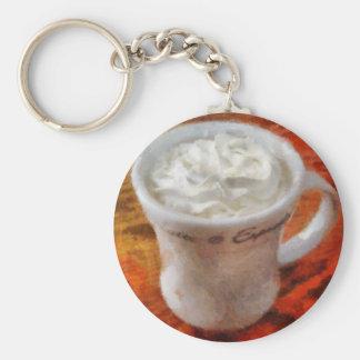 Caffe Latte Llavero Personalizado