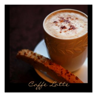 Caffe Latte Posters