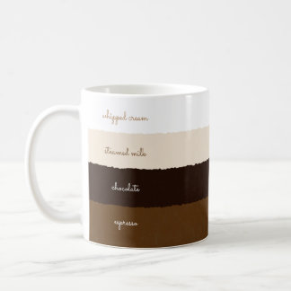 Caffè Mocha recipe White 11 oz Classic White Mug
