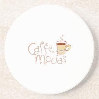 Caffe Mocias Logo Coaster