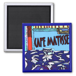 Caffee Matisse Sign Magnet
