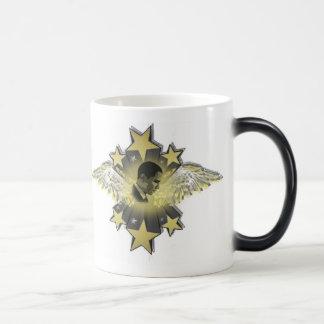 caffeein de obama taza de café