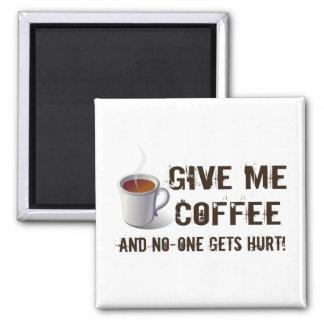 Caffein Deprivation Magnet