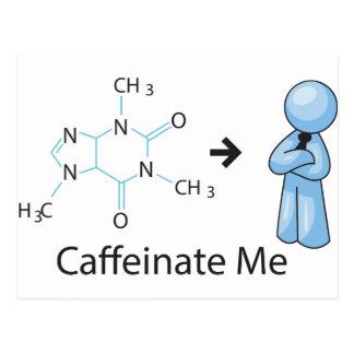 Caffeinate yo tarjeta postal