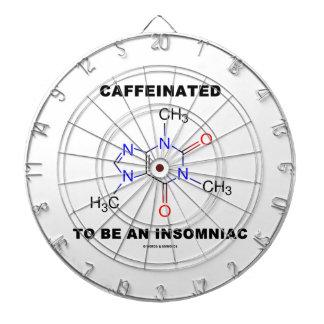 Caffeinated a ser una insomne (molécula del