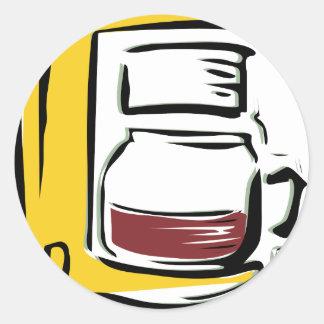 Caffeinated Coffee Pot Sticker